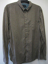 """Paul Smith Check Shirt with Mother of Pearl Buttons Size L Pit to Pit 23"""""""