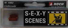 NOCH 15952 Sexy Scenes - Lovers in Action in Armchair 00/H0 Model Rail Figures