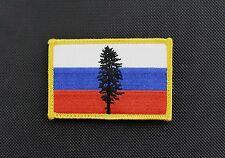 Russian Cascadia Flag Patch Rushing Russians Milsim West MSW Spetsnaz GRU