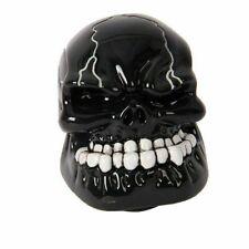 Unviersal Manual Skull Transmission Black Gear Shift Knob Shifter Lever Resin