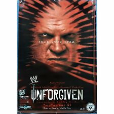 Official Rare WWE Raw Unforgiven 2003 Pay-Per-View PPV Promo POSTER feat Kane
