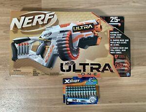 NEW - Nerf Ultra One Motorized Blaster - Incl 25 Nerf Ultra Darts & Bonus 36pack