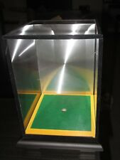 Display Case : Golf Ball with tee insert -perspex display case - mirror at back