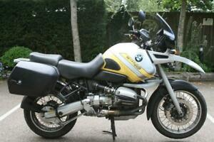 BMW R1100GS ABS IN YELLOW/SILVER BMW R1100GS ABS, PANNIERS, HEATED GRIPS