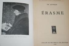 ERASME-QUONIAM 1935 ILLUSTRE