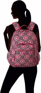 VERA BRADLEY ICONIC CAMPUS BACKPACK 🌷 Raspberry Medallion - New w/ Tags🌷