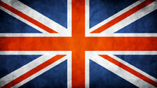 """UK Flag Union Jack Britain CANVAS PRINT  24""""X36"""" Abstract poster #2"""