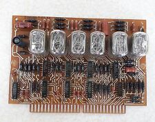 Lot of 6pcs Nixie tubes, 4pcs IN-12B + 1pcs IN-15A + 1pcs IN-15B + 4pcs K155ID1