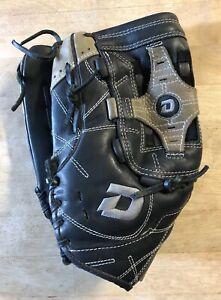 "DeMarini Diablo Black Ecco Leather Softball Baseball Glove AO727 DB12 - 14"" LHT"