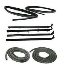 81-93 DODGE RAM PICKUP TRUCK DOOR WINDOW WEATHERSTRIP SEAL SET RAMCHARGER KIT