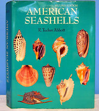 American Seashells R. Tucker Abbott 1974 Signed with Dust Jacket