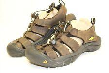 KEEN Newport H2 Mens 9.5 42.5 Brown Waterproof Leather Hiking Sandals Shoes