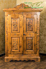 Voglauer Anno 1600 Wardrobe Hallway Cupboard Closet Cottage Antique Style