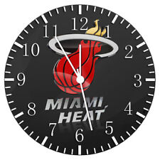 Miami Heat Frameless Borderless Wall Clock Nice For Gifts or Decor W219
