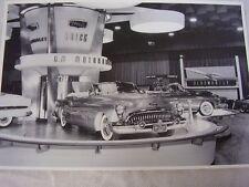 1953 BUICK MOTORAMA DISPLAY  SKYLARK  12 X 18 LARGE PICTURE   PHOTO