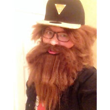 Party Beard Moustache Costume Fancy Dress Mustache Halloween Fake Facial Hair