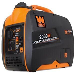 WEN 56200i 2000W Super Quiet Portable Inverter Generator