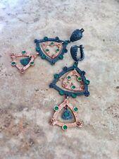 Sterling silver turkish earrings