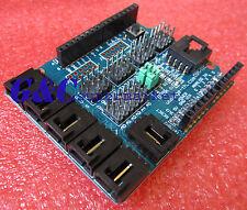 2pcs Sensor Shield V4 Digital Analog Module Arduino Duemilanove/UNO WA NEW