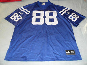 Vintage 90's Marvin Harrison COLTS Home PUMA jersey