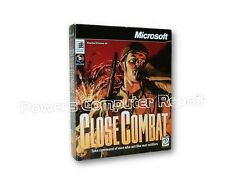 Vintage Microsoft Close Combat PC Game - New In Sealed Package!