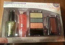 Wet N Wild Flora Collection Makeup Kit- Blush Eyeshadow Nail Polish Lip Gloss