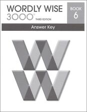 Wordly Wise 3000 Grade 6 Key **3rd Edition**