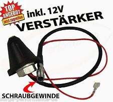 ANTENNENFUSS Antennensockel mit Antennenverstärker Stabantenne VW AUDI SEAT NEU