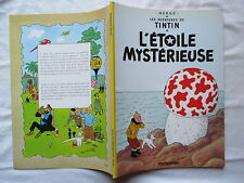 TINTIN L'ETOILE MYSTERIEUSE RARE EDITION PUBLICITAIRE TOTAL 1999
