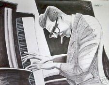 BILL EVANS PRINT poster jazz piano waltz debbie cd trio explorations standards