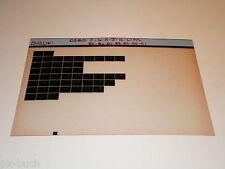 Microfich Ersatzteilkatalog Suzuki DS 80 Stand 1991