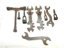 Vintage wrenches including John Deere