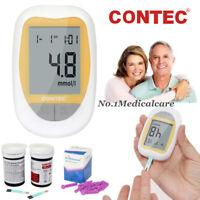 Moniteur de test de diabète pour glucomètre, bandes 50pcs