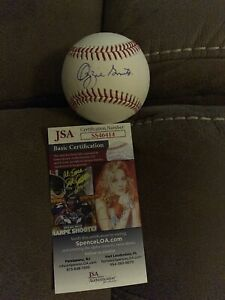OZZIE SMITH SIGNED BASEBALL ST LOUIS CARDINALS JSA HALL OF FAME ALL STAR 2
