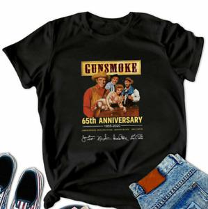 Gunsmoke 65Th Anniversary 1955-2020 S T-Shirt Funny Vintage Gift For Men Women