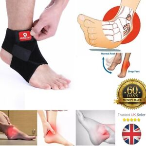 Adjustable Breathable Ankle Support Brace Strap Sports Running Weak Joint Injury