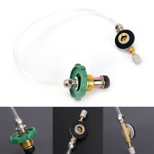 Outdoor Camping Gas Stove Valve Adapter Propane Refill Gas Tank Adapter Burner&