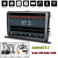 "Android 9.1 9"" 1+16GB 2Din Quad Core Car Stereo Radio Player GPS WIFI 3G/4G DAB"