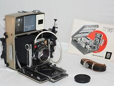 Linhof  Technika-70 6x9cm field camera kit. Technikon 100mm f2.8 lens and grip