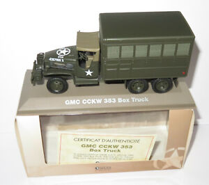 UNIVERSAL HOBBIES ATLAS VEHICULES BLINDES GMC CCKW 353 TRUCK USA 1/43 IN BOX