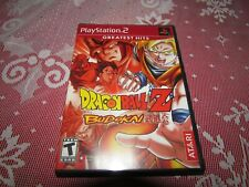 DRAGONBALL Z BUDOKAI (Sony PlayStation 2, 2002) COMPLETE PS2 STICKERS
