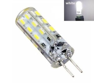 Ampoules G4 LED 24 SMD Blanc Xenon Lumière 6000K Caravane Camping Car Bateau