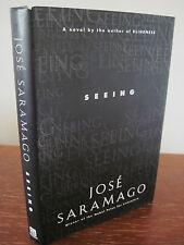 1st/1st Printing SEEING Jose Saramago NOBEL PRIZE Modern CLASSIC