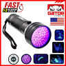 UV Ultra Violet 51 LED Flashlight Blacklight 395 nM Inspection Lamp Light Torch