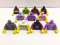 11 Nuovo Lego Figure Mini Femminile Donna Ragazze Torso's / 11 Diverse Tipi