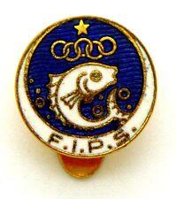 Distintivo Con Smalti Sportivo FIPS Federazione Italiana Pesca Sportiva (SAF Sta