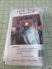 """Little Angel Miniature Quilt Kit- Rachel Pellman 13"""" x 15"""" -#OK0495"""
