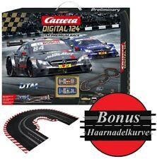Carrera Digital 124 DTM Premium Race & Haarnadelkurve