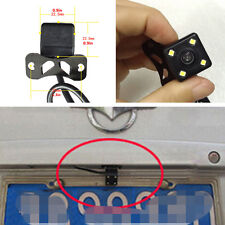 Car Reverse Backup Parking Auxiliary 4 LED Night Vision CCD Camera Astern image