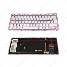Teclado Español para Sony VAIO SVF14N13CXB Backlit Pink Frame